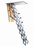 Schaartrap - aluminium & elektrisch