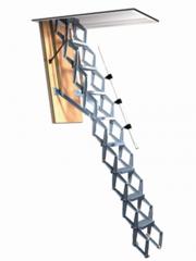 Schaartrap-aluminium-&-elektrisch