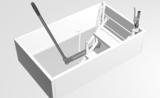 Zoldertrap Roto Exclusief Aluminium schaartrap warmte isolerend Bovenopener