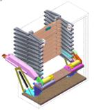 Zoldertrap Roto Junior verticaal Aluminium schaartrapmet veersysteem 180°
